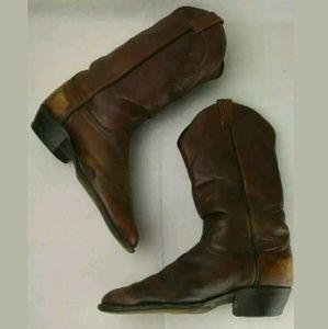 Tony Lama | Vintage Leather Cowboy Boots Estate